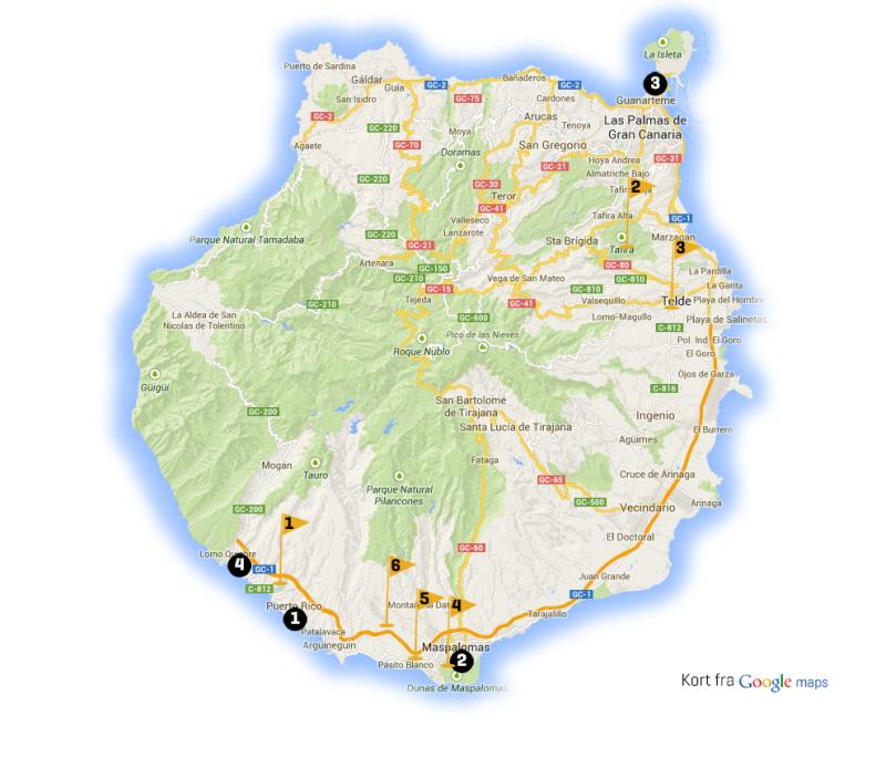 Golfrejser Til Gran Canaria Spanien Find Din Golfrejse Her