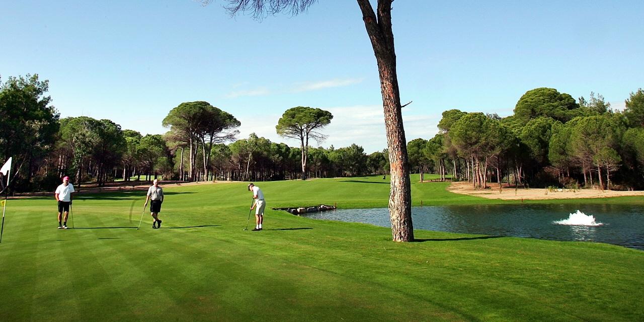 korte golfrejser