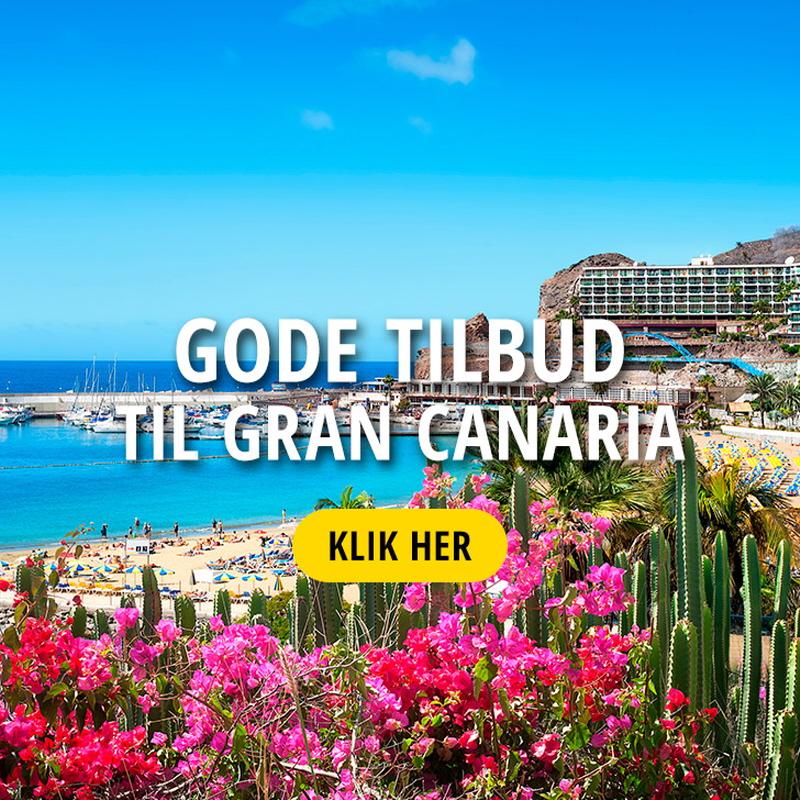 Rejs til Gran Canaria med Bravo Tours Få en billig rejse her