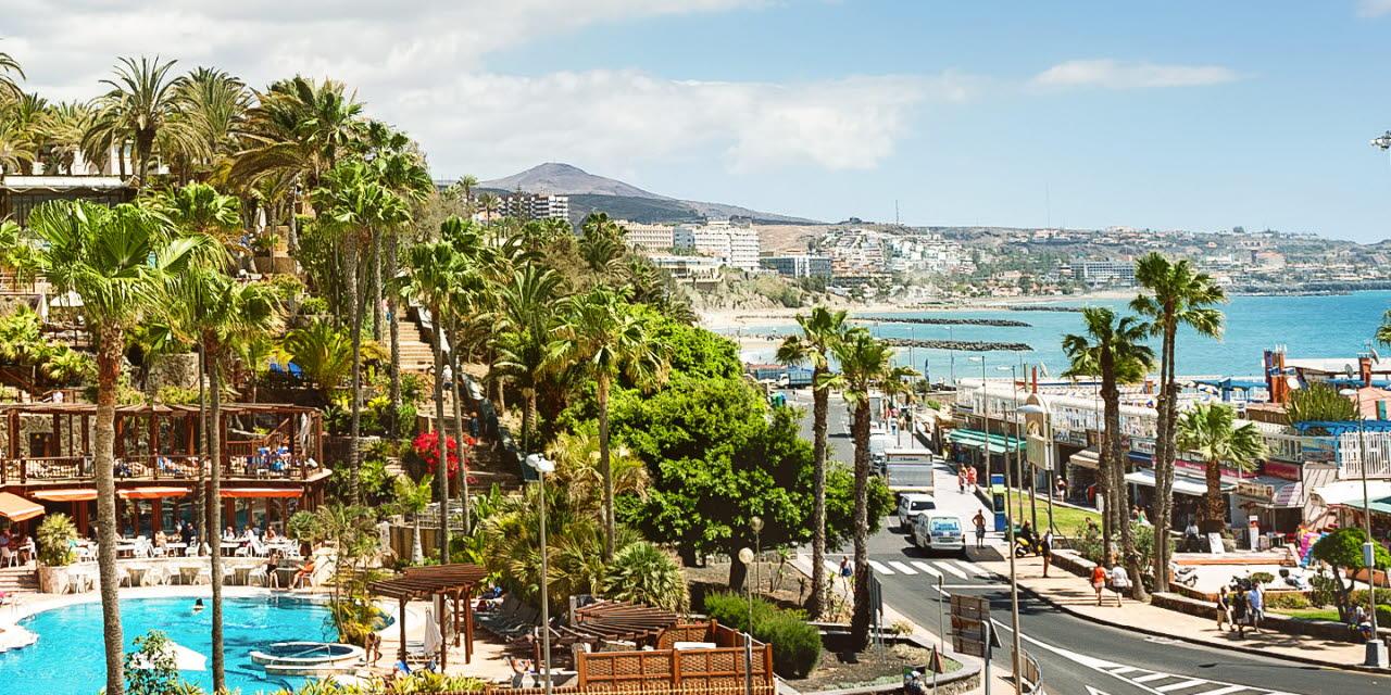 På charterresa till Gran Canaria - QX