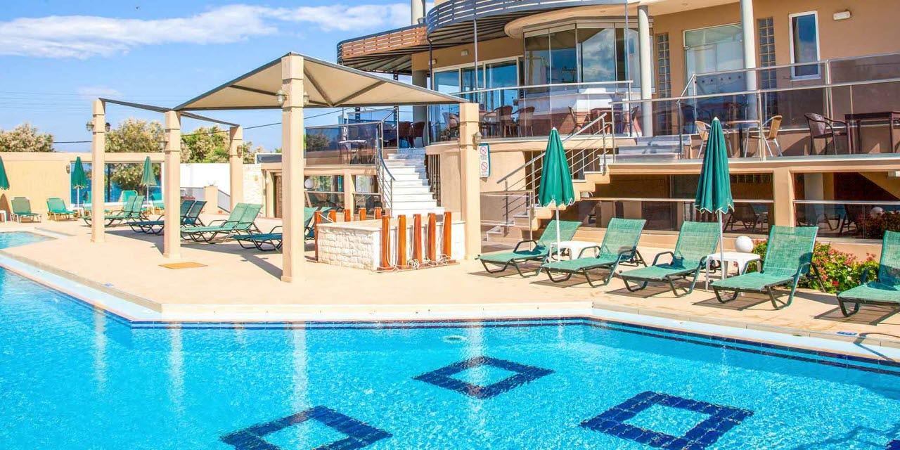 4d6a4f19 Maleme Mare Beach Resort Hotel på Kreta - Bestil en rejse her!