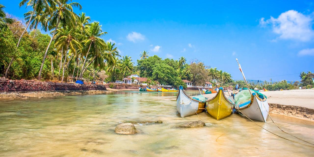 Vejret I Goa Indien Vejrudsigt For Hele året